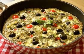 cuisine grecque omelette grecque ma cuisine santé