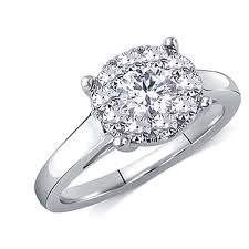 Difference Between Engagement Ring And Wedding Ring by Difference Between Cluster And Halo Weddingbee