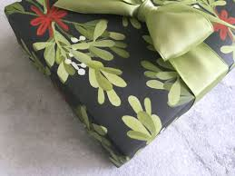 flat christmas wrapping paper mistletoe gift wrap christmas wrapping paper flat sheet