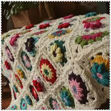 mori garden hand crocheted blankets handmade wool rug hook