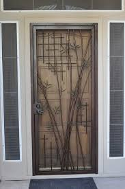 bamboo security door contemporary entry by grizzly