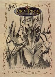 marleyeds sketch card site lord of the rings jake myler