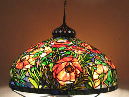colorful l shades colored glass lighting stained glass table ls mission tiffany
