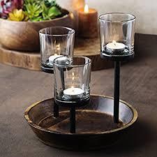 amazon com elegant decorative votive candle holder centerpiece
