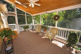 Screened Porch Makeover by Indoor Outdoor Carpet Screened Porch Carpet Vidalondon