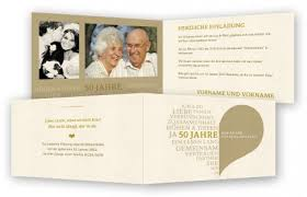einladung goldene hochzeit goldene hochzeit einladung einladungskarten feinekarten