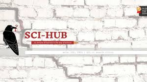 Sci Hub Pirate Website Sci Hub Is So Big It Will Bring The Journals