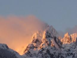 Rugged Mountain Range Rugged Mountain At Sunset Picture Of Tahsis Vancouver Island