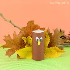 toilet paper roll turkey craft easy peasy and