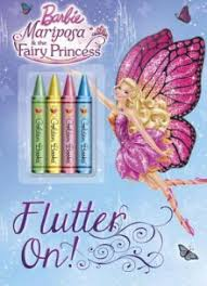 flutter coloring book barbie mariposa fairy princess