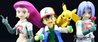bandai s h figuarts pokémon ash ketchum and team rocket the fwoosh