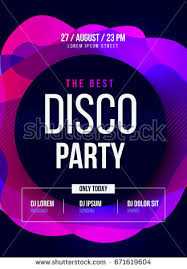 party flyer club music flyer dj stock vector 304737707 shutterstock
