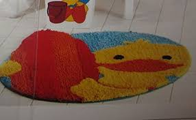 Yellow Duck Bath Rug Rubber Ducky Rug Roselawnlutheran