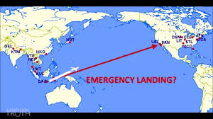 Flat Map Of The United States by Emergency Air Plane Stop Proves Flat Earth Youtube