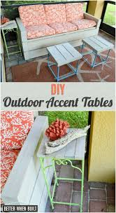 Outdoor Accent Table 18 Stylish Diy Accent Tables That Will Add Beauty To Any Room