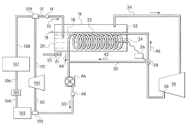 patent us6357240 apparatus and method for flushing a chiller