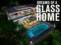 home design story pool two story modern glass home design next generation living homes