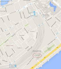 Copenhagen Map Venue And Accommodation Eslccc16