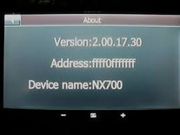 clarion u s a nx700 software update for bluetooth