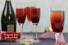 christmas champagne cocktails pomegranate ginger sparkling cocktail suburban wife city life