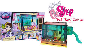 Camp Style Pet Day Camp Style Set Littlest Pet Shop Youtube