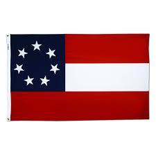 Texas Flag Half Staff Dixie Flag Texas Confederate Stars And Bars 3 Ft X 5 Ft Nylon