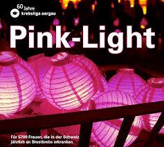 Pink Light Pink Light 2017 Krebsliga Aargau