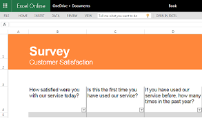 customer satisfaction report template best free survey templates for excel