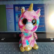 aliexpress buy fantasia unicorn ty beanie boos 1pc 15cm 6