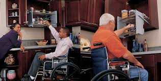 Services - Accessible kitchen cabinets