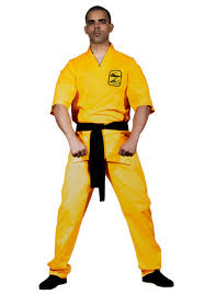 bruce lee karate costume escapade uk