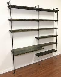 Black Pipe Bookshelf Superb Galvanized Pipe Shelf 30 Galvanized Pipe Shelf Plans White