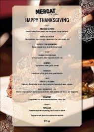 mercat chicago thanksgiving menu 2016 chicago tapas restaurant