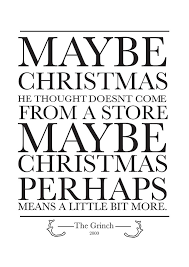 grinch quote maybe posters by meeperoon redbubble