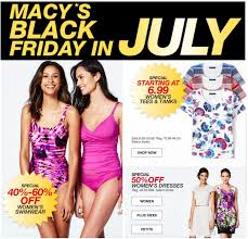 macys black friday sales macy u0027s black friday in july sale