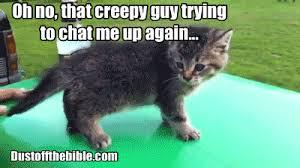 Gif Memes - christian gifs creepy guy in church christian gif meme