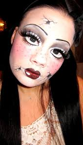 half face halloween makeup ideas best 25 cracked doll makeup ideas on pinterest scary doll