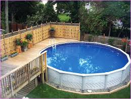 Above Ground Pool Ideas Backyard 22 Amazing And Unique Above Ground Pool Ideas With Decks Backyard