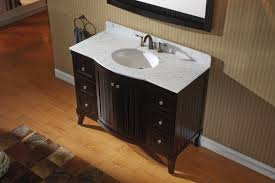 Decorative Laminate Flooring Wooden Laminate Flooring Black Vanity With White Granite Coutertop