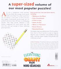 the everything giant book of word searches over 300 puzzles for