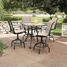 patio table ideas garden cool outdoor dining table design with glass top black