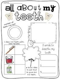 collection of solutions dental health worksheets about letter