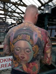 tattoo devotees showcase beautiful designs at east london u0027s