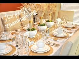 does pottery barn have black friday sales pottery barn u0026 williams sonoma dupes thanksgiving tablescape youtube