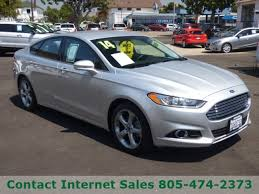 ford fusion sales 2014 used 2014 ford fusion for sale arroyo grande ca