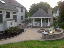 landscape and hardscape design in holland pa simmens landscaping