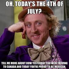 4 Of July Memes - condescending wonka memes create meme