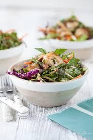 mason jar salad thai shrimp salad against all grain