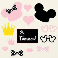 mickey mouse photo booth props minnie mouse mickey mouse photobooth printables minnie mouse