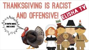 thanksgiving is and offensive